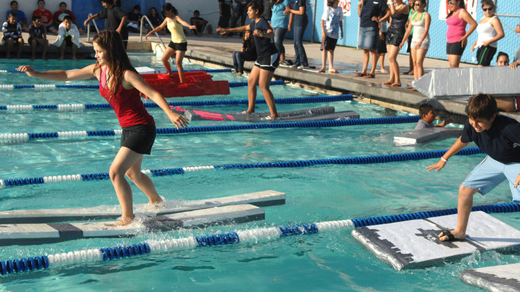 Math and science mesh as students walk on water – San Diego MESA ...