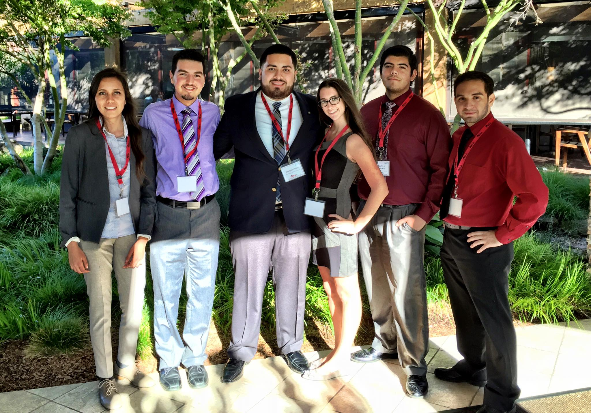 SDSU MESA students at the 2015 MESA Student Leadership Conference in Santa Clara