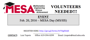 MESADay2016Volunteers